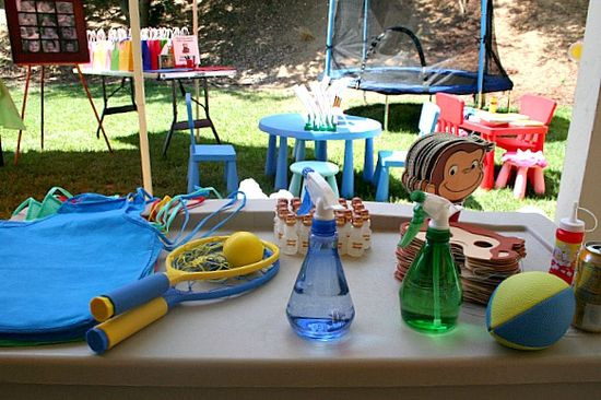 Curious george party activities