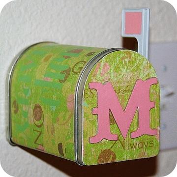 mod podge mailbox
