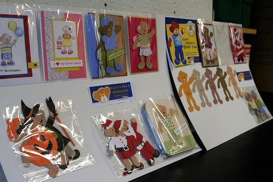 Build-A-Bear Paper Dolls