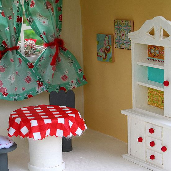 handmade dollhouse furnishings