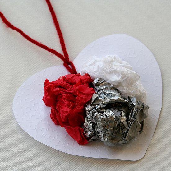preschool Valentine's Day crafts