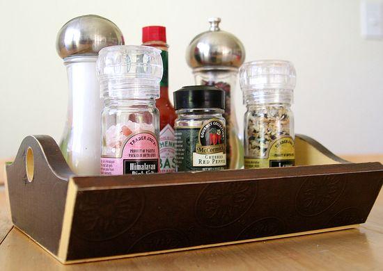 Mod Podge Condiment Tray