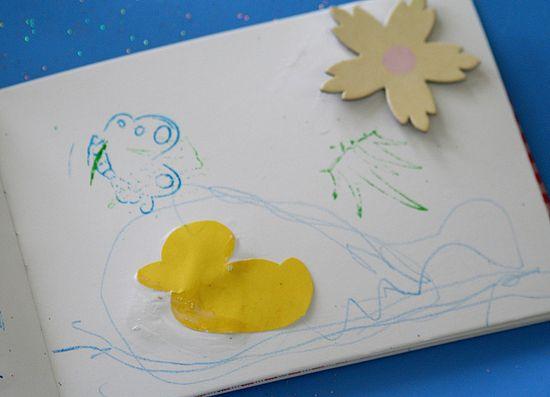 Spring memory books for kids