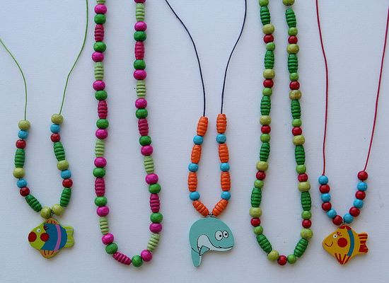 Beaded Necklaces for little girls