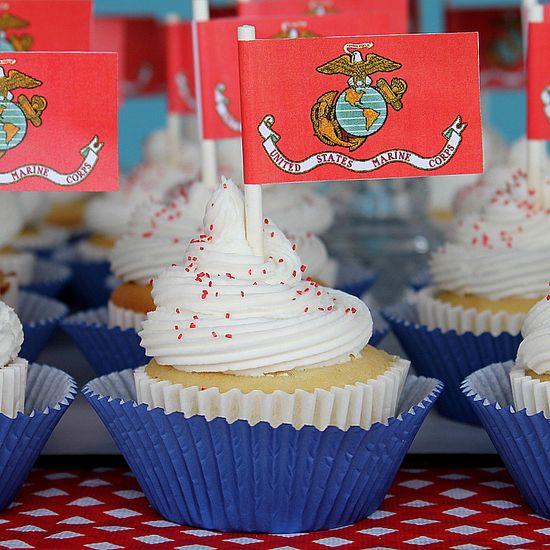 USMC Cupcakes