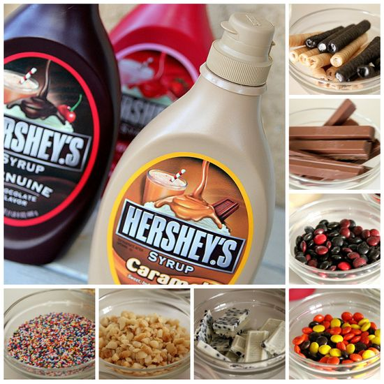 Hershey toppings