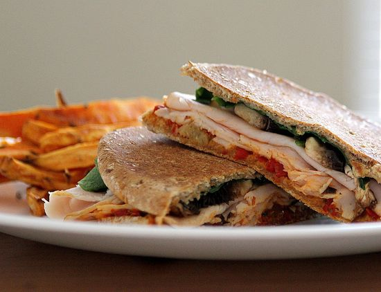 turkey and bruschetta panini