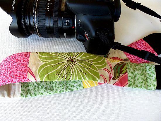 camera strap sleeve