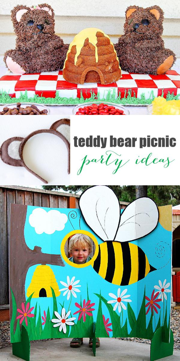 Teddy bear picnic birthday party ideas