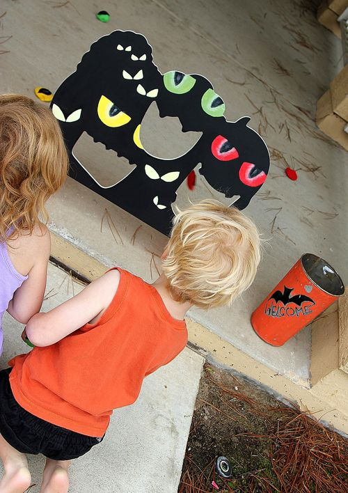 Handmade Halloween Party Games