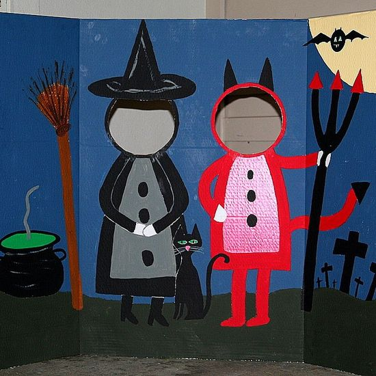 Halloween Photo Station