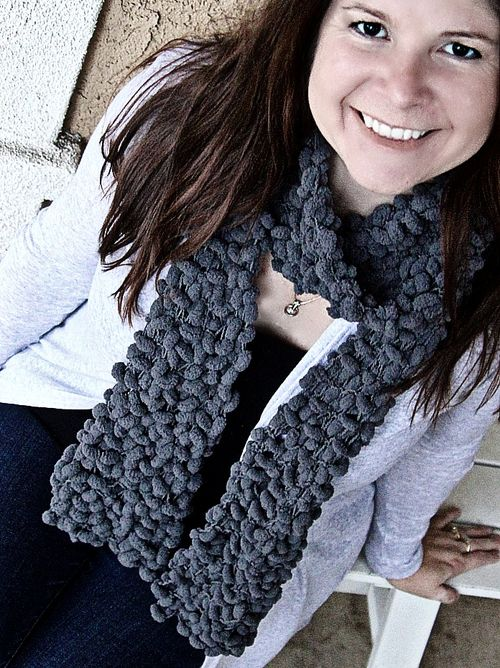 Moda Vera Marshmallow scarf