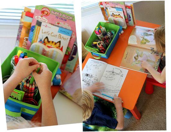 art station for kids