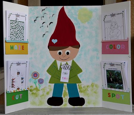 Gnomeo and Juliet craft project