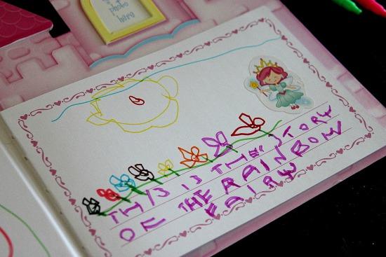 Princess castle book for kids