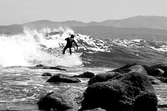 surfing pacific grove