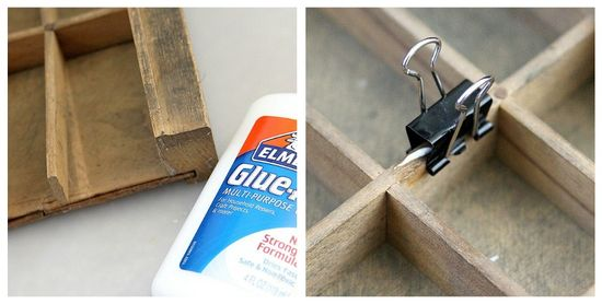 Glue-all repairs