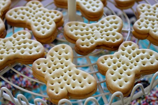 Butterfly Cheese Crackers