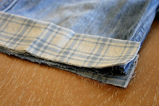 How to hem jean shorts