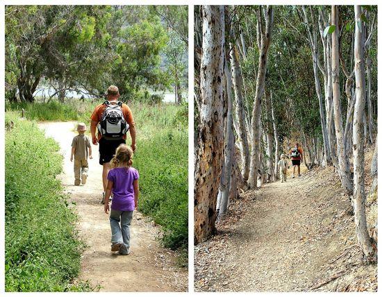 Family hike carlsbad