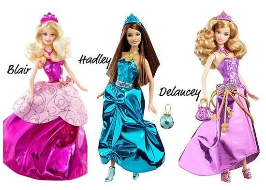 Barbie Charm School Dolls