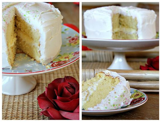 Yellow Tea Cake