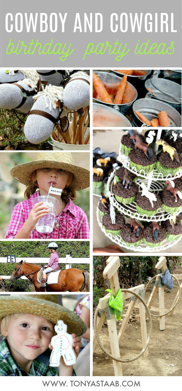 The best cowboy and cowgirl birthday party ideas for twins