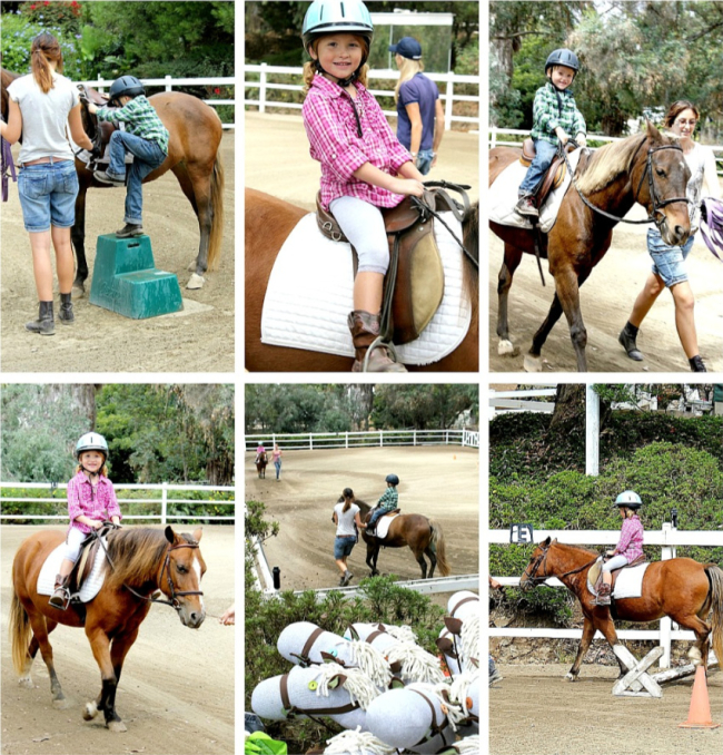 Horse riding birthday party san diego