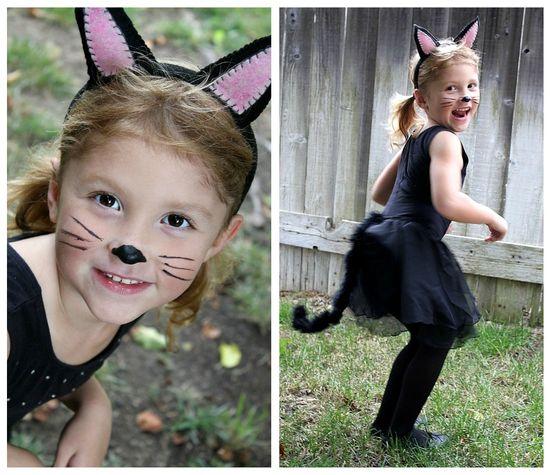 Handmade cat costume