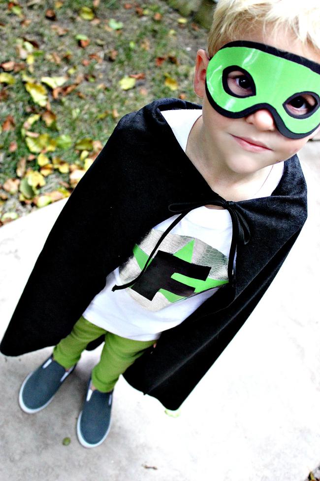 handmade superhero costume