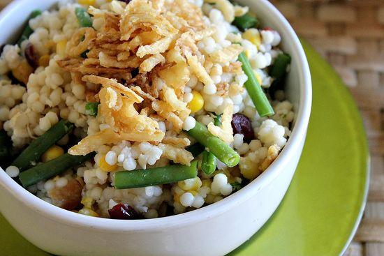 turkey and cranberry couscous salad