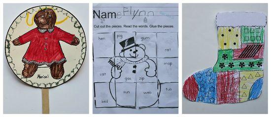 Christmas crafts for kindergarteners