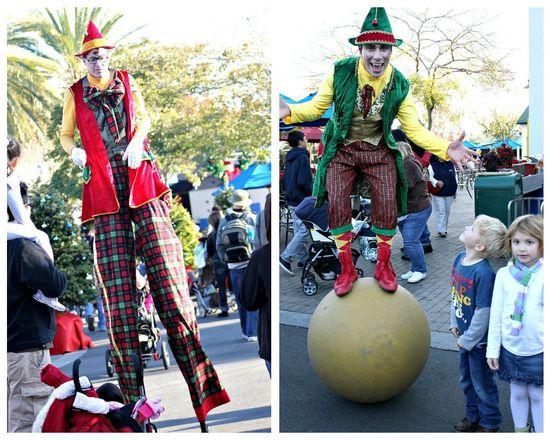 Holiday characters at Legoland