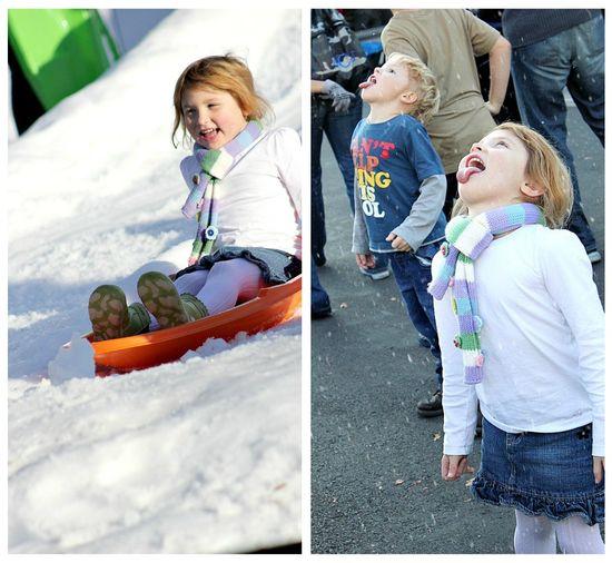 Holiday snow at Legoland