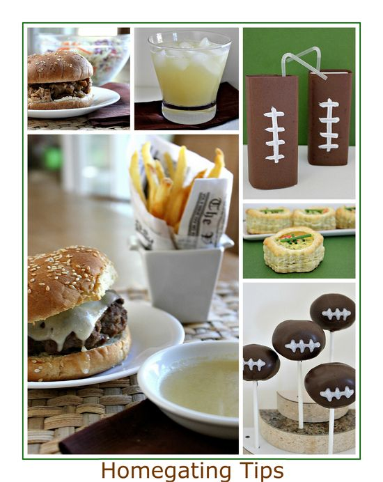 Homegating Party Tips and Recipes