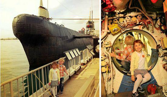 San Diego Harbor Submarine