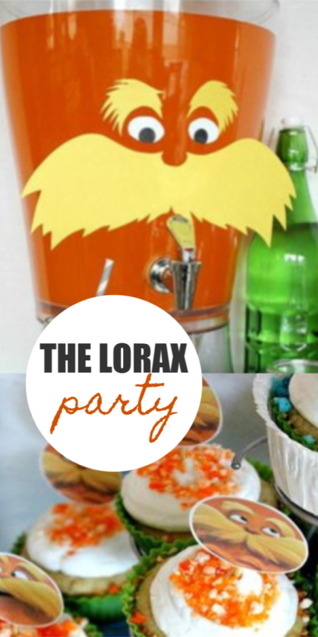 Dr Seuss The Lorax Party Ideas and Printables