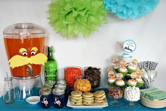 Lorax party table