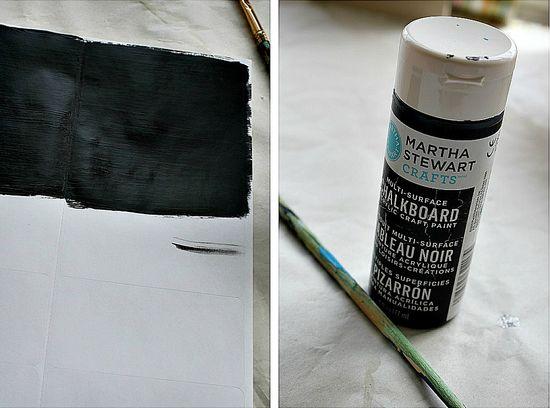 martha stewart chalkboard paint