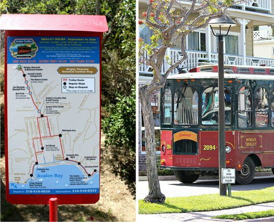 Catalina trolley