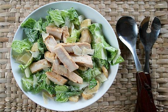 Blissfully Domestic Olive Garden Style Salad Tonya Staab