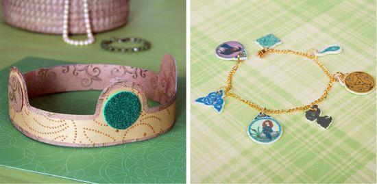 BRAVE crown and bracelet