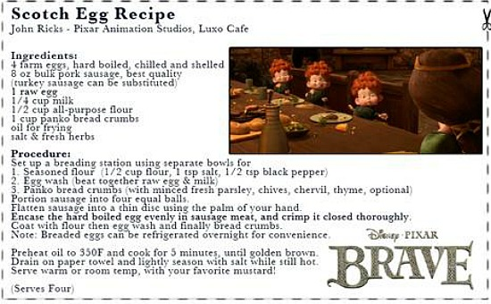 BRAVE scotch egg recipe