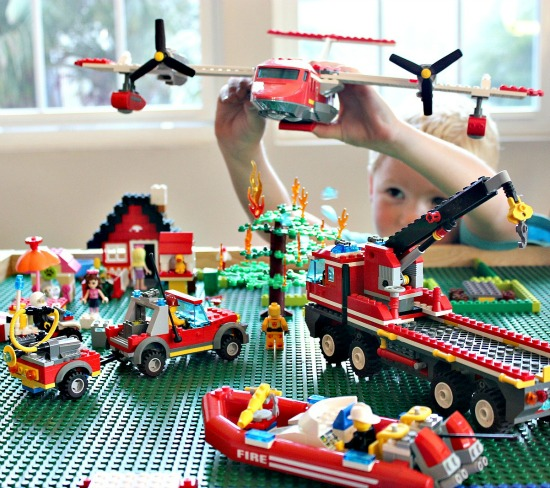 Lego Fire