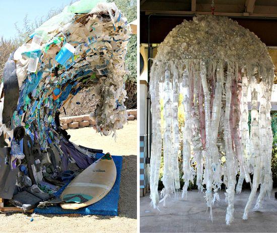 Washed ashore exhibit