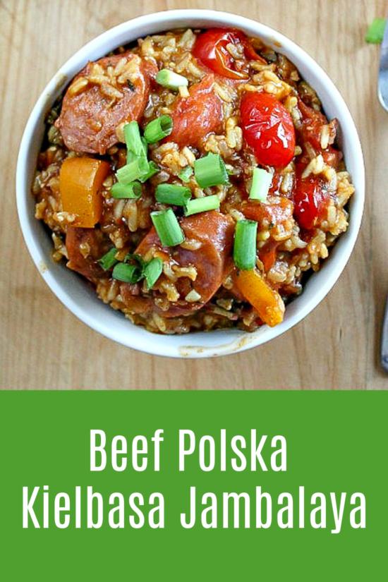 How to make Beef Polska Kielbasa Jambalaya