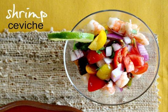 Shrimp Ceviche Recipe