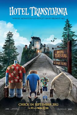 Hotel Transylvania review and activities