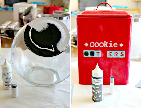 How to use Martha Stewart Glass Paint and Stencils