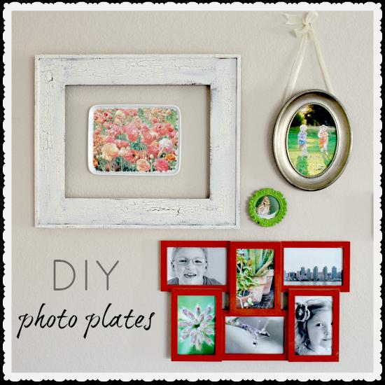 DIY photo plates